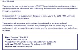 RMIT Scholarships